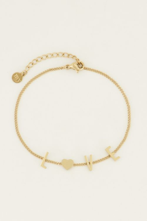 Armband Luck Letters