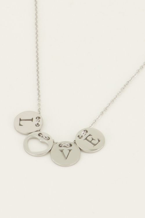 Ketting Love Rond