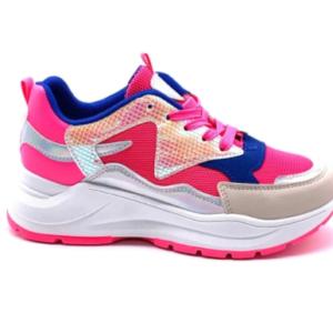 Fuchsia Mermaid Sneakers