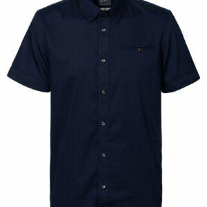 Short Sleeve hemd Navy