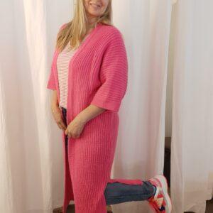 lange cardigan fushia one size