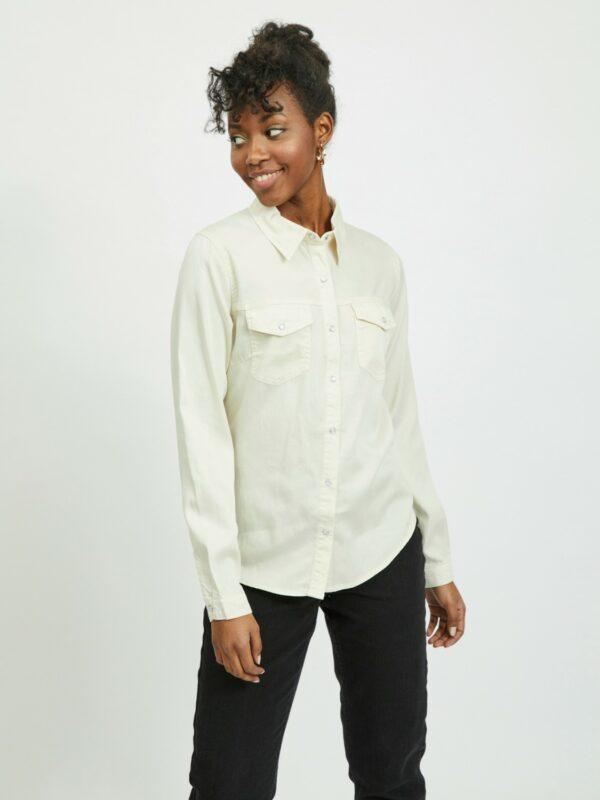 Vibista Denim Shirt Noos Birch