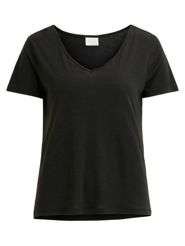 ViNoel V-neck T-shirt Black