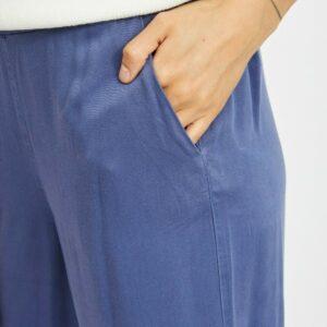 ViFanza Cropped Pants Medium Blue