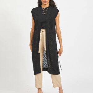 ViLesly Long Knit Vest