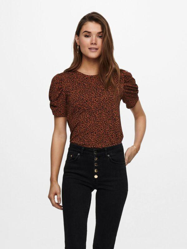 jdykirkby t shirt rustic brown