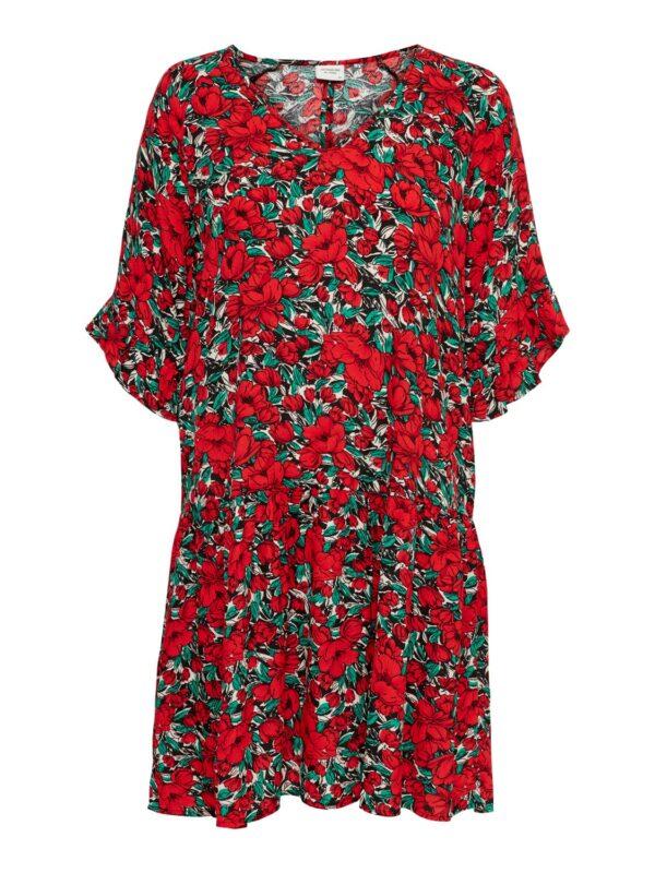 jdywossi dress red flowers