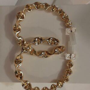 pcmahina hoop earrings goud