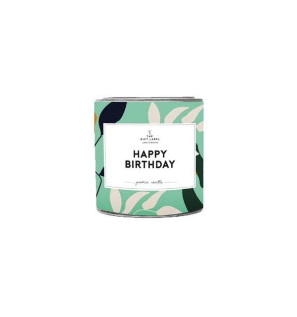 Happy Birthday - Small Candle