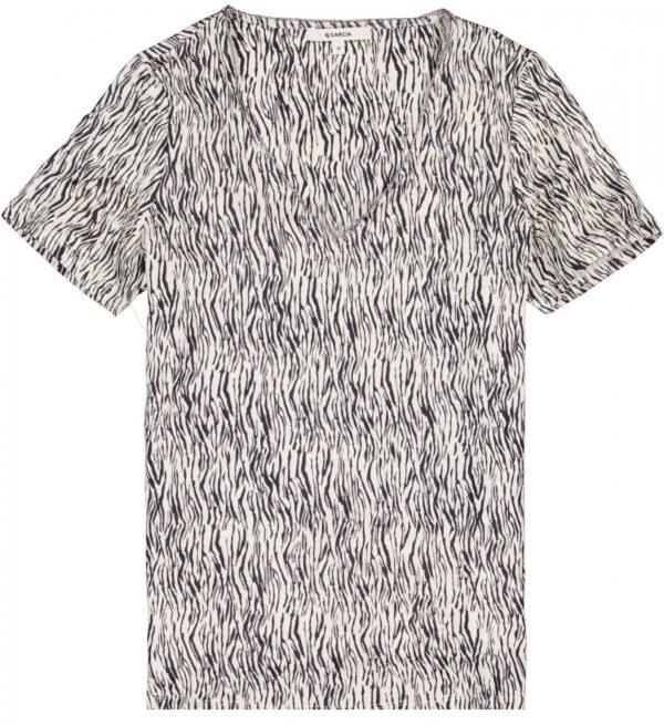 T-shirt Off White Zebra