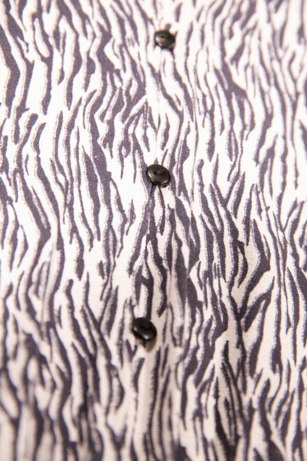 Playsuit Off White Zebra
