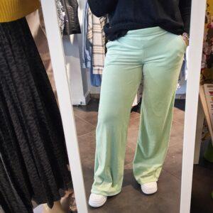 Lancio Velvet Pants Munt