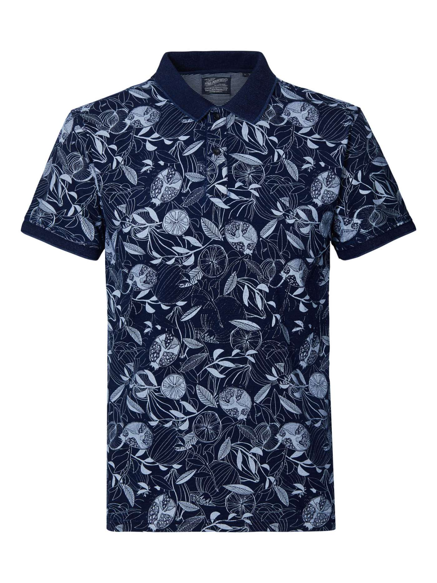 Botanical Polo Dark Indigo