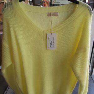 knit mika licht geel