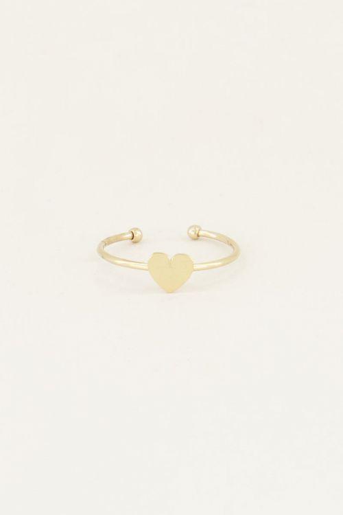 Ring Sweet Little Heart GOUD