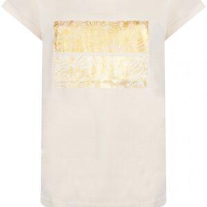 T-shirt Foil Artwork Champagne