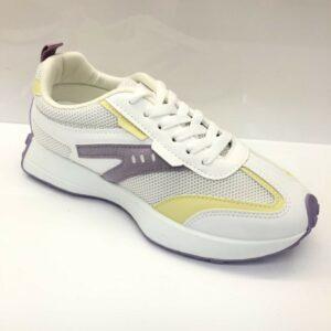 Sneakers Wit-paars