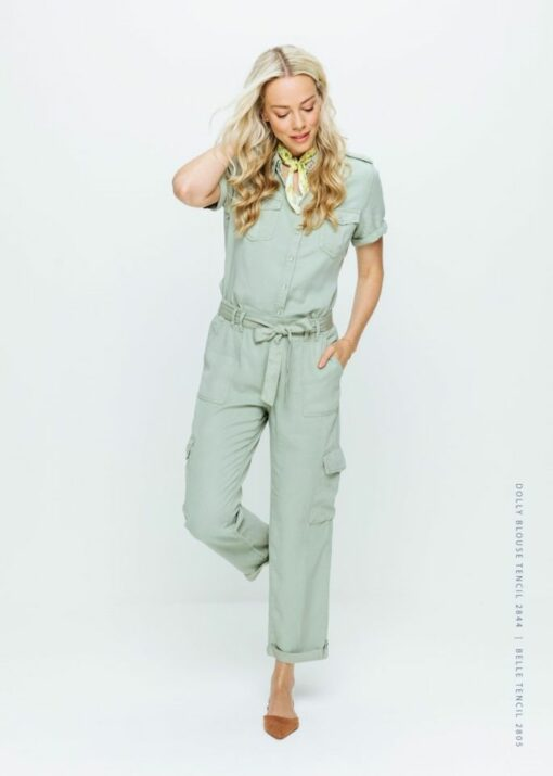 Belle trouser tencil