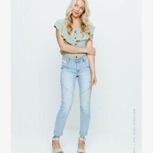 Mira blouse tencil pistache