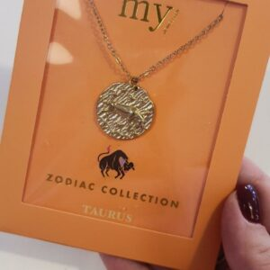 Zodiac Ketting - Stier Goud