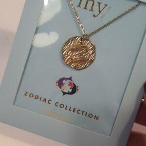 Zodiac Ketting - Vissen Goud