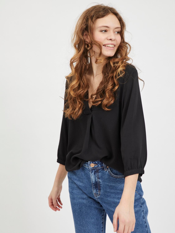 Vidania 3/4 shirt Black