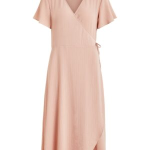 Vilovie wrap dress rose
