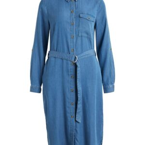 vioakes bista midi shirt dress