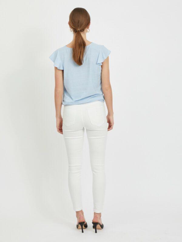 ViFlint Capsleeve T-shirt Cashmere Blue