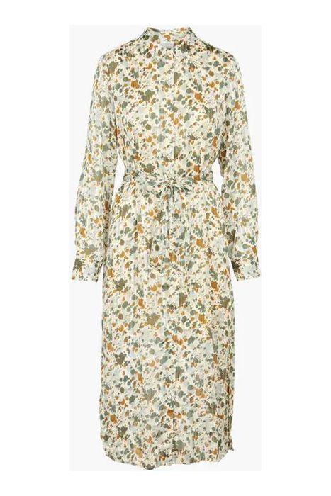 Vipaus l/s shirt dress