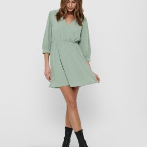 jdyphoebe wrap dress jade
