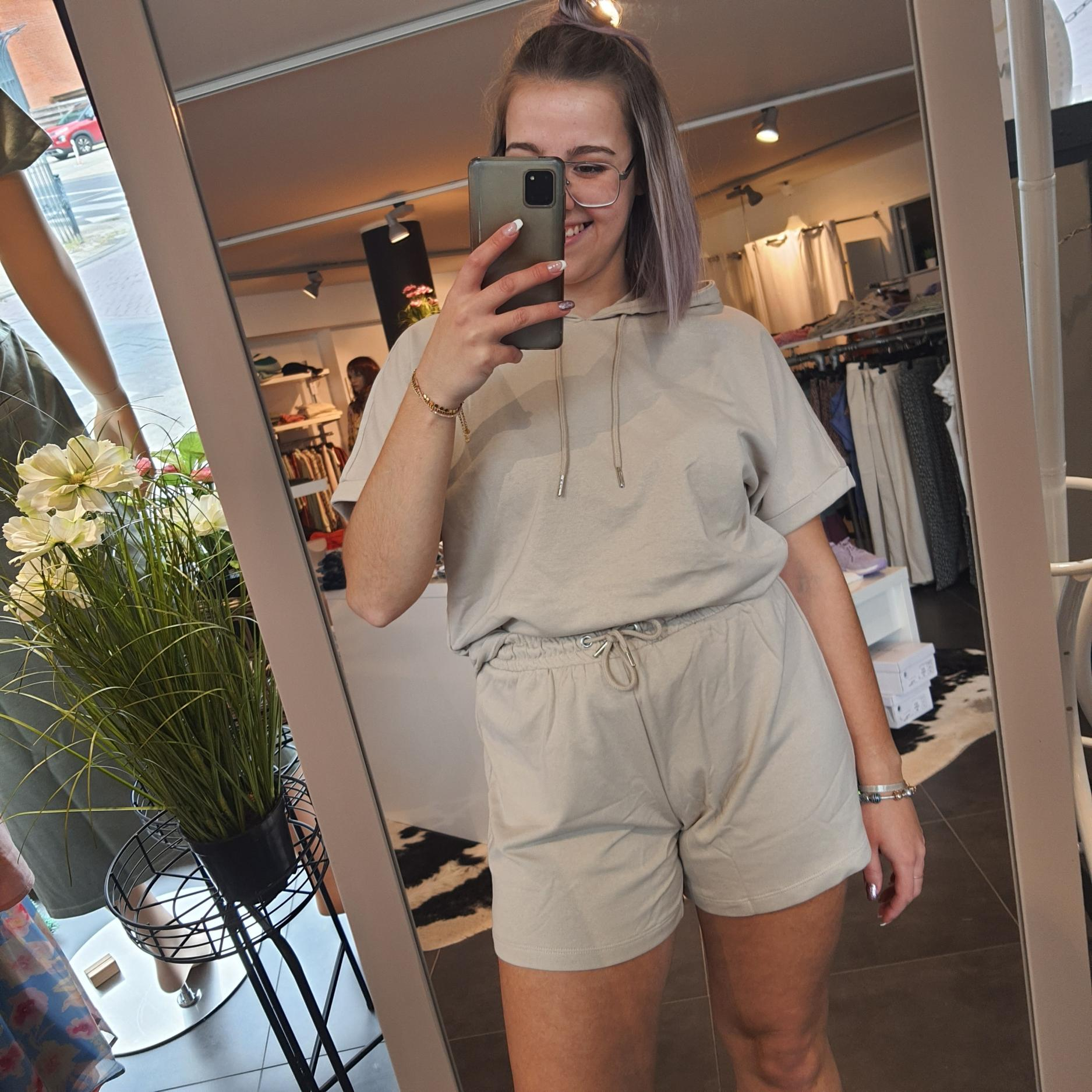 JdyCindi Ivy Life Shorts Chateau Gray