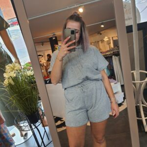 JdyCindi Ivy Life Shorts Light Grey