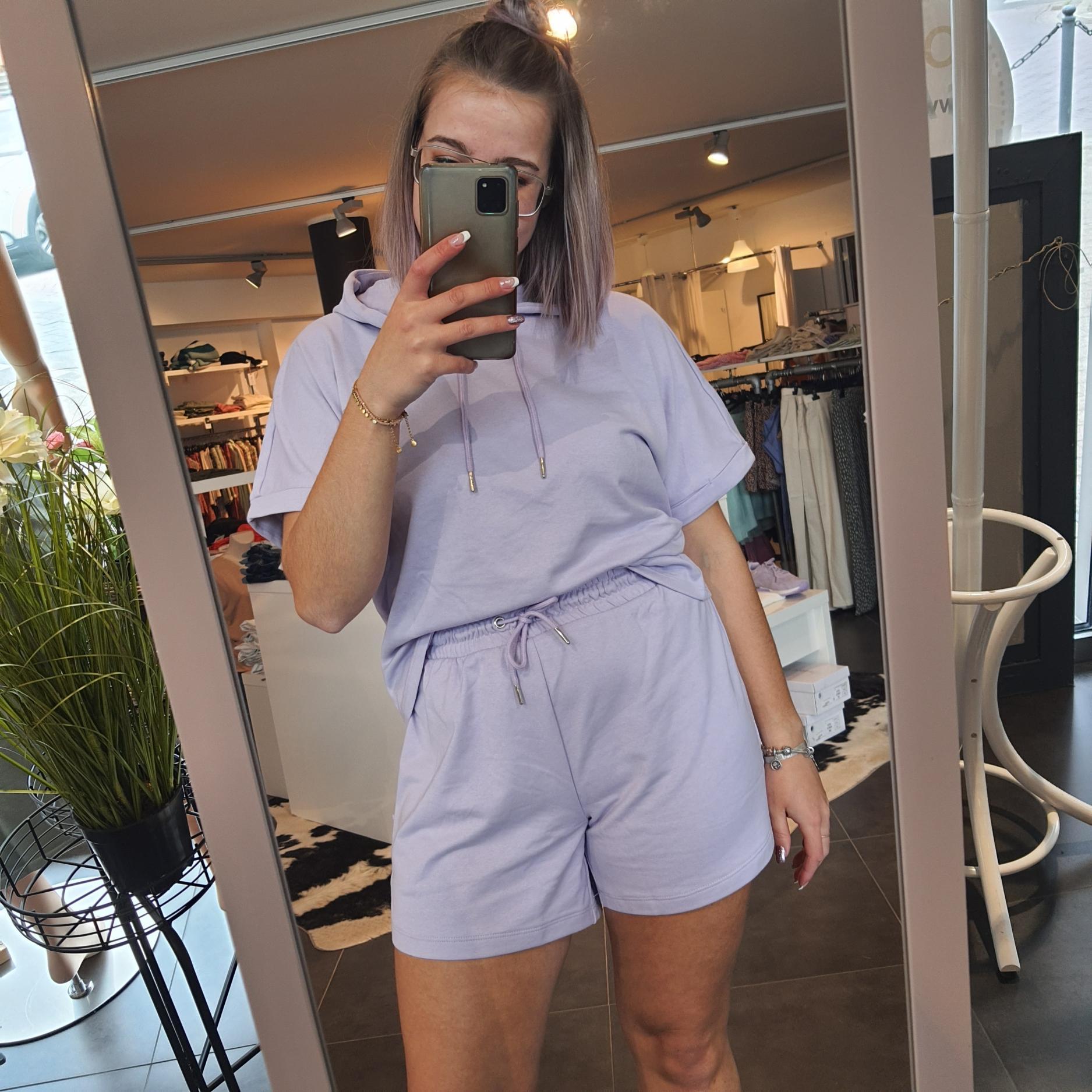 JdyCindi Ivy Life Shorts Pastel Lilac