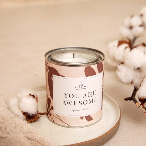 You Are Awesome - Big Candle