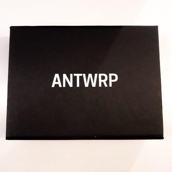 Box met 2 paar Kousen - ANTWRP RED