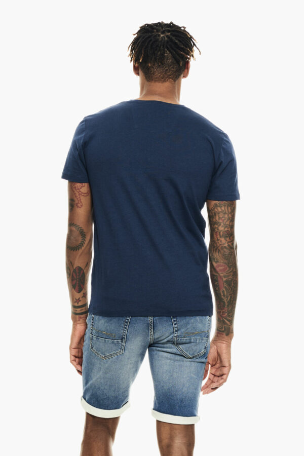 T-shirt denim blue