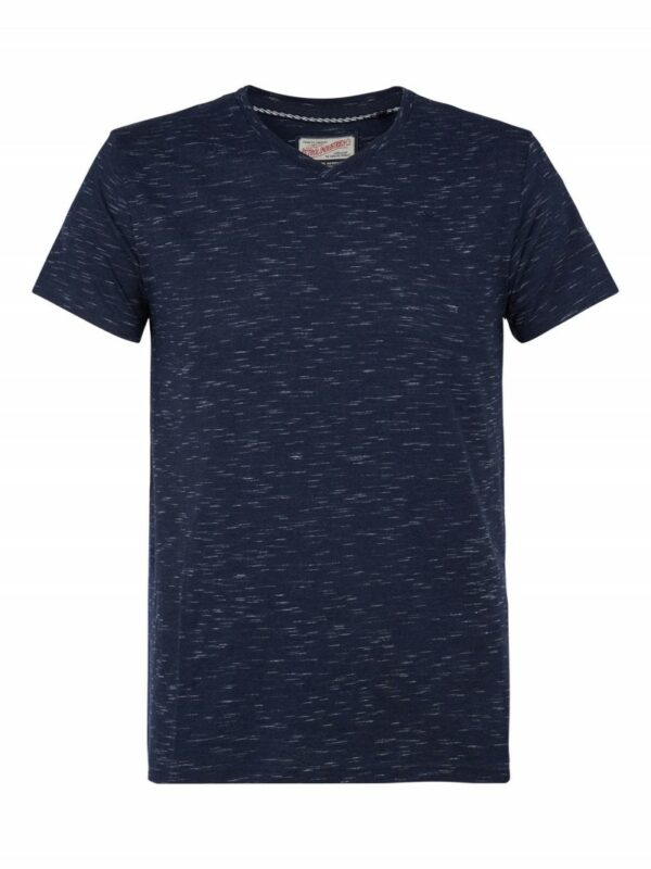 T-shirt V-neck Dark Petrol