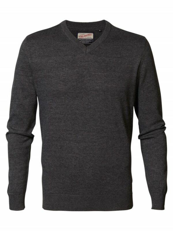 Pullover V-neck Black