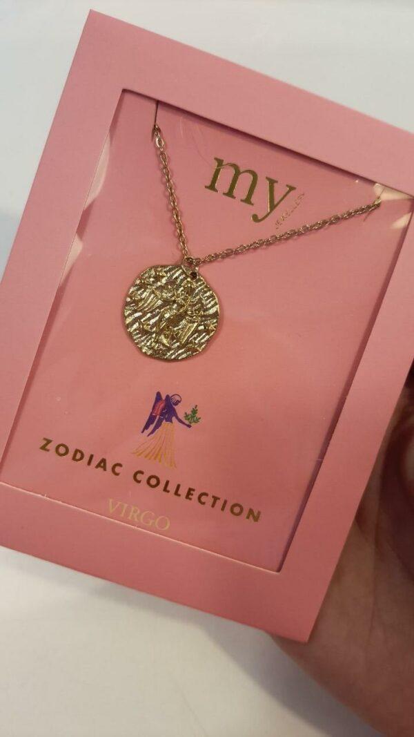 Zodiac Ketting - Maagd Goud