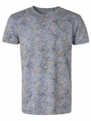 T-shirt Crewneck Arctic Blue