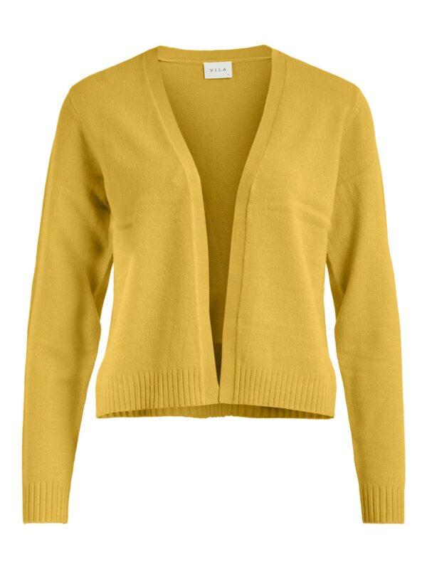 Viril Short knit cardian Mustard