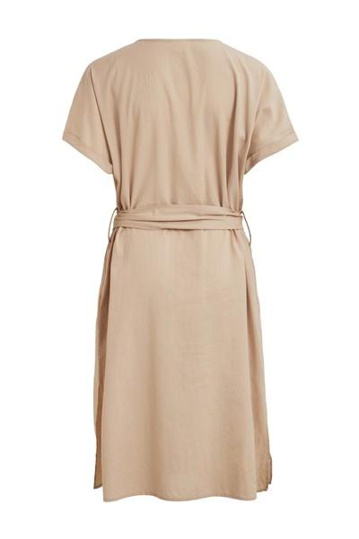 ViMarine Capsleeve Dress Humus