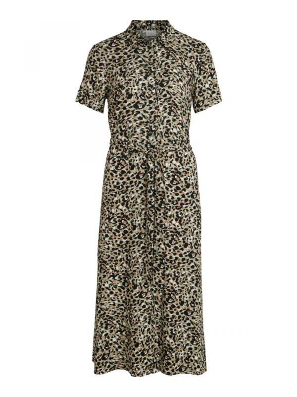 ViVish Midi Dress Leopard