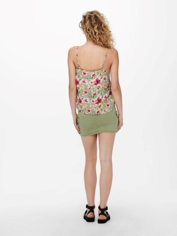 JdyAppa Lace Singlet RoseBloom