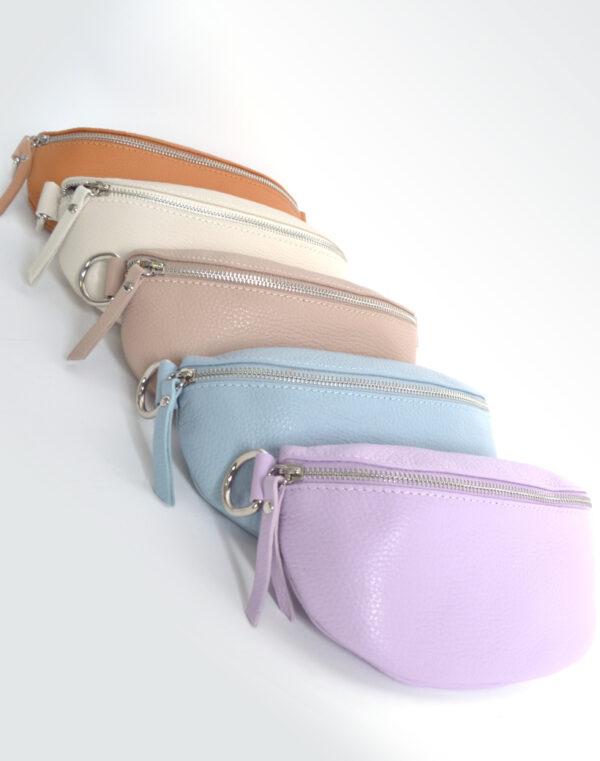 Lederen schoudertas (7 kleuren)