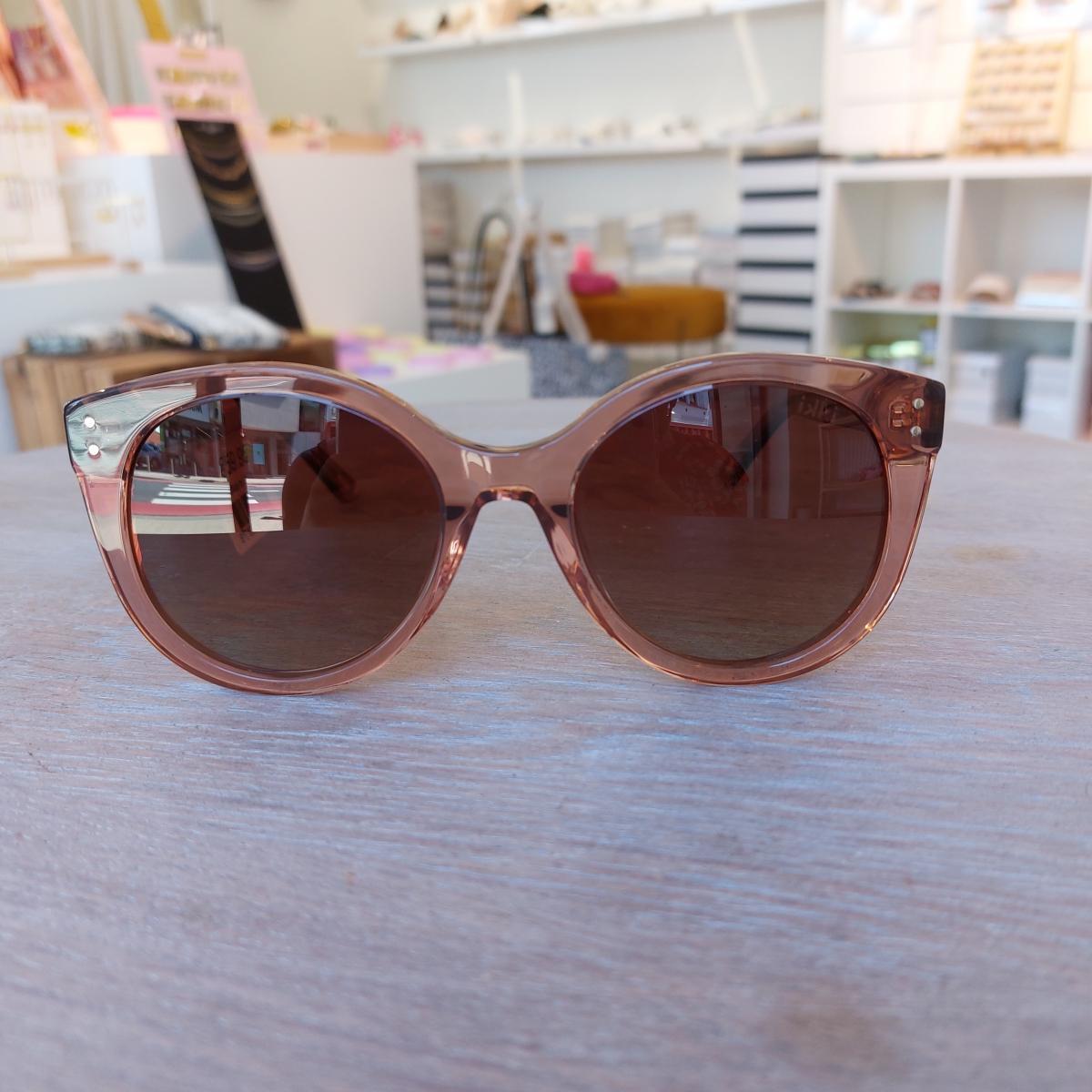 IKKI Zonnebril Giuliana Transparent Pink