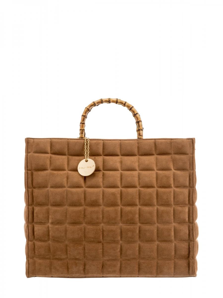 Handbag big Tan