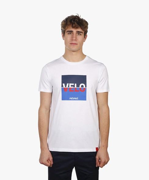 T-shirt Velo Futurist White