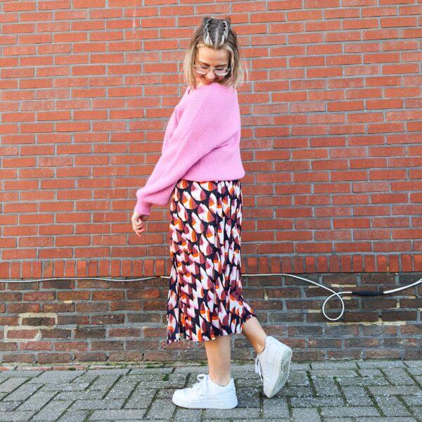 Skirt Paula Flame Mix
